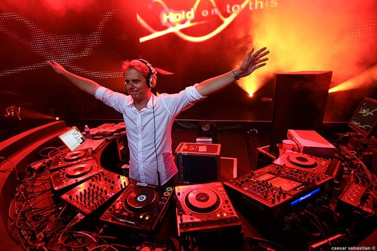 Armin Van Buuren Tops The 2010 Top 100 DJ List