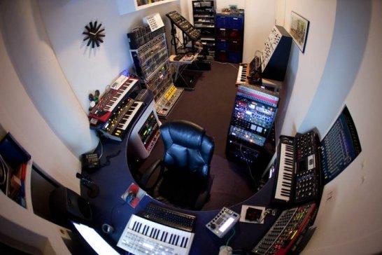 Deadmau5 studio 2.0