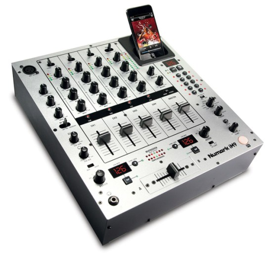 numark iM9-dj mixer