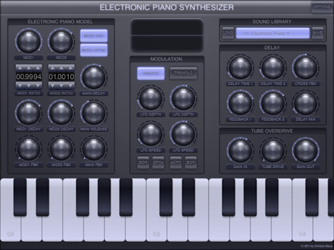 Electric Piano Synthesizer