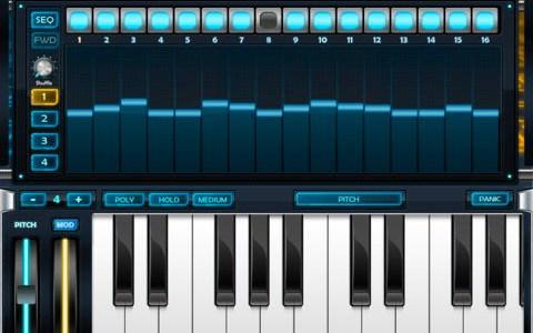 Arctic Keys synthesizer