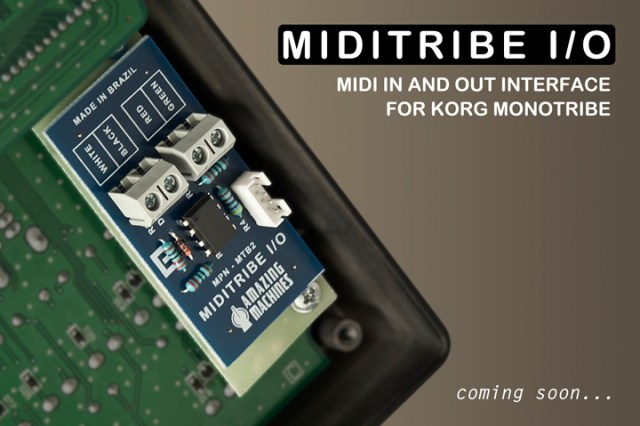 Miditribe io midi in out