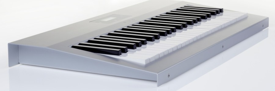 Evo keyboard polyphonic aftertouch