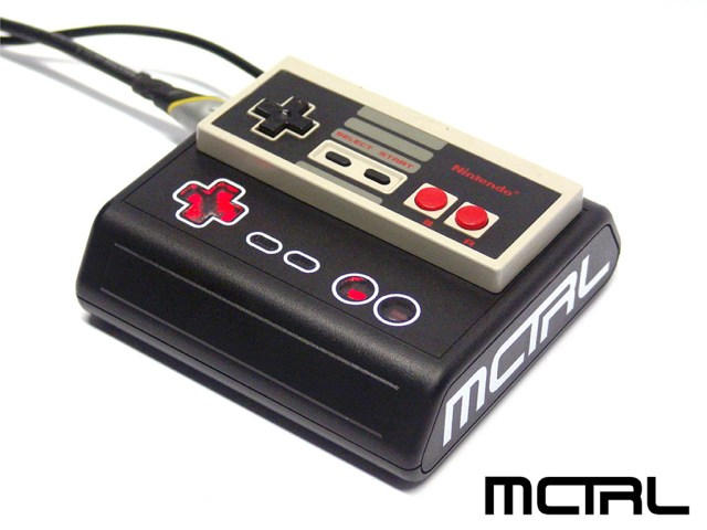 MCTRL-midi-nes-controller
