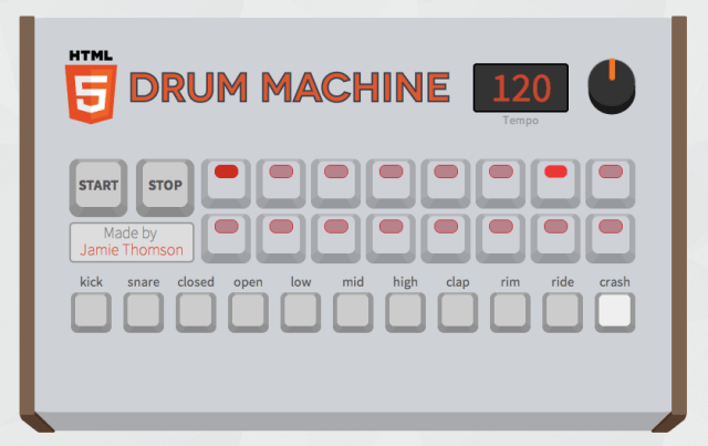 html-5-drum-machine