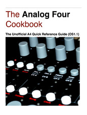 analog-four-cookbook