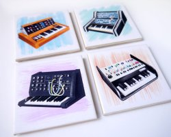 synth-coasters