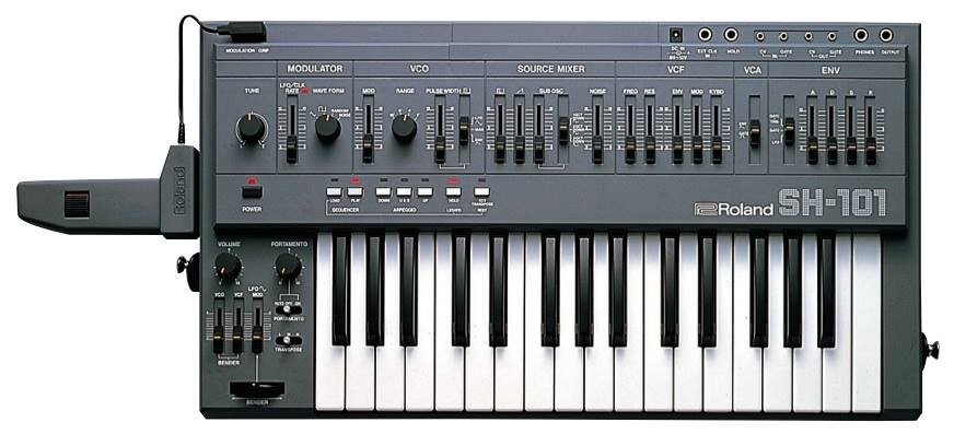 Roland Intros Sh 101 Plug Out Software Synthesizer