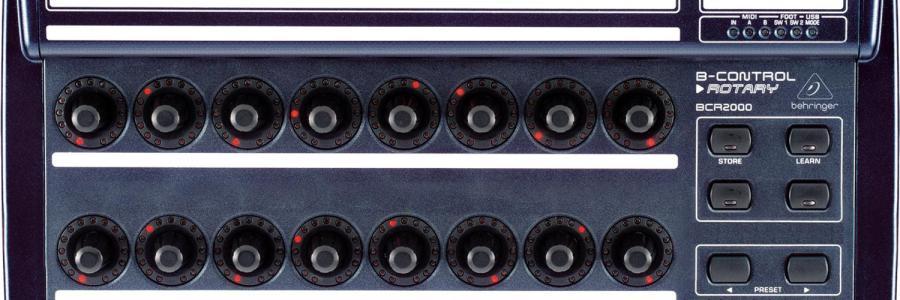 Behringer-BCR2000