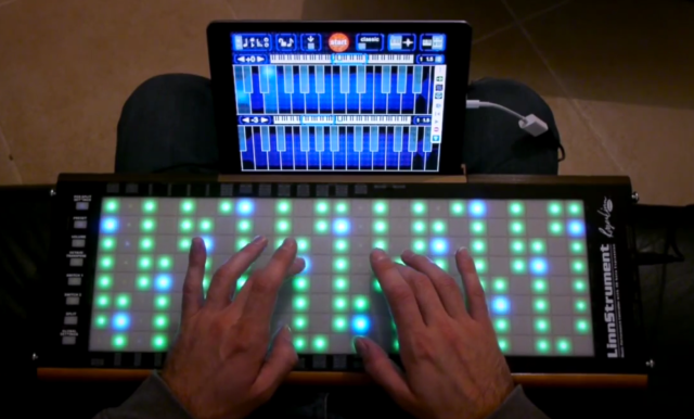 linnstrument-and-ipad