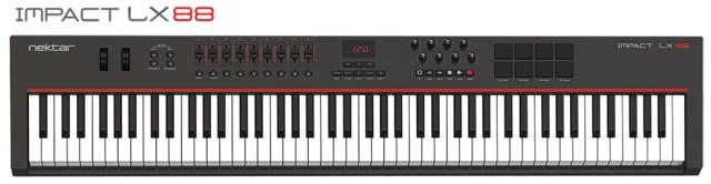 nektar-LX88-controller