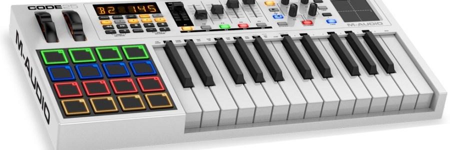 m-audio-Code25-controller