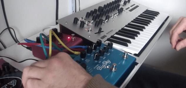 ambient-improvisation-korg-minilogue