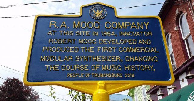 R. A. Moog Historical Marker