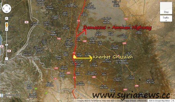 Strategic town Kherbet Ghazaelh cleansed by SAA from terrorists