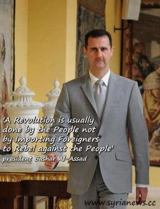Quote Bashar Assad