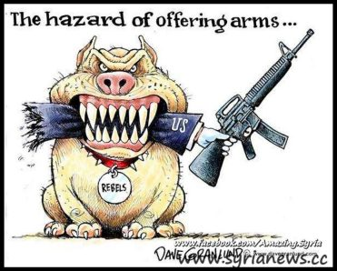 The hazard of arming terrorists