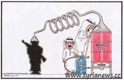 One link to finance terror - Alqaeda FSA