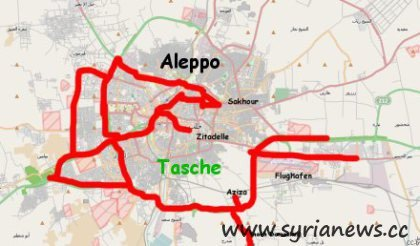 Terrorist Pocket in Province of Aleppo (Halab)