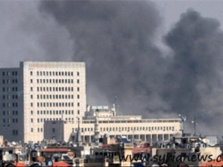Terrorists shoot Mortar Shells on Bab Tuma (Source: FNA)