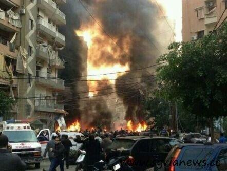 Dhahieh Explosion