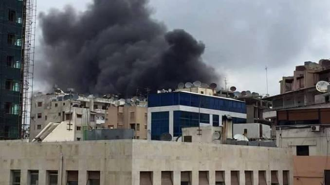 Latakia Shelling by Moderate Rebels