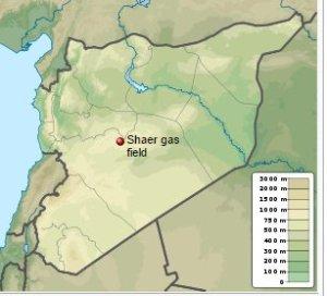 al Shaer gas field