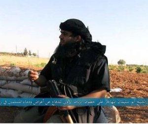 Aussie takfiri Mostafa Mahamed, freudianly posed, in Syria