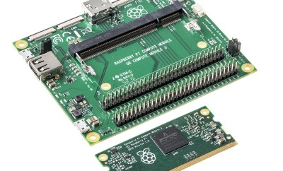 RS579-Raspberry Pi 3 Compute Module with Compute Module IO Board