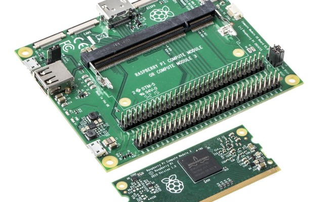 RS579-Raspberry Pi 3 Compute Module with Compute Module IO Board