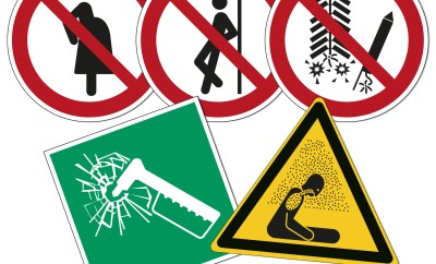 10309-5 New ISO 7010 Safety Signs