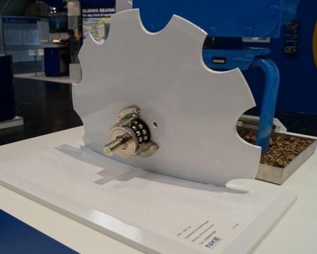 Bild 2 Modell Scheibenegge mit NKE Lagereinheit