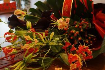 グロ花束2