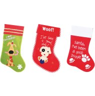 Pet dog Christmas sacks