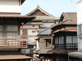 Narita - Blick von der Omotesandö Richtung Naritasan