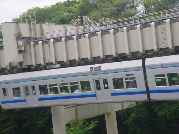 Monorail in Chiba
