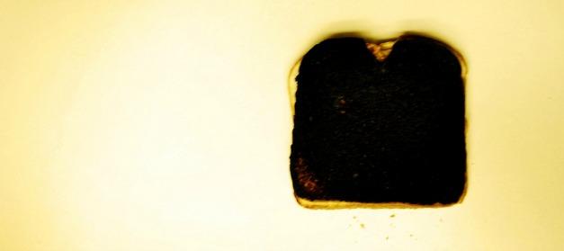 Das Bild des toten Toasts