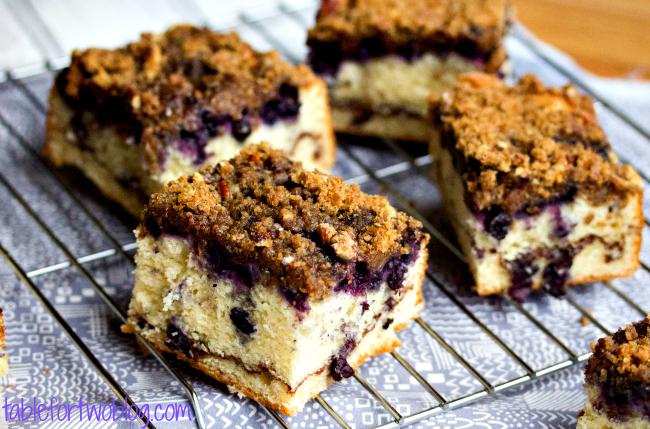 Paleo Blueberry Buttermilk Coffeecake