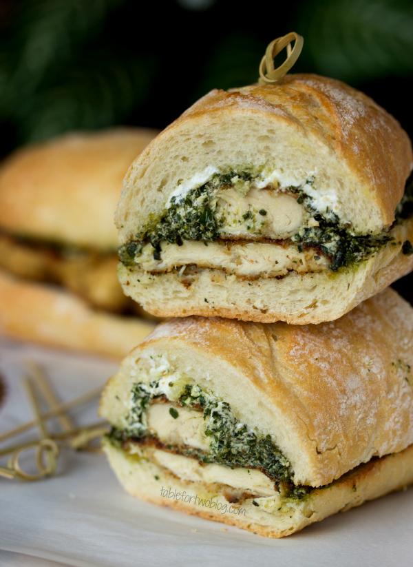 Paleo Chicken Pesto Sandwich