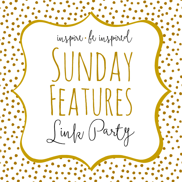 Sunday Features Link Party at Tabler Party of Two