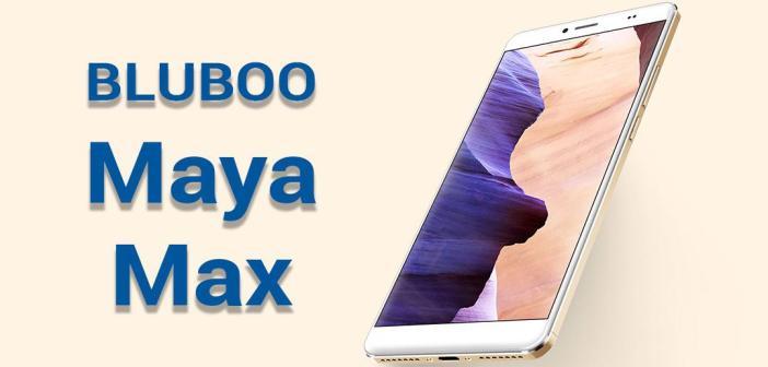 Bluboo Maya Max : présentation et test