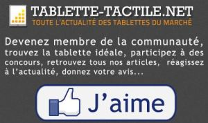 Devenez fan de Tablette-Tactile.net sur Facebook