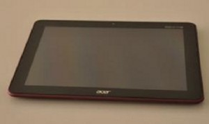 Une tablette Acer A200 pointe le bout de son nez...