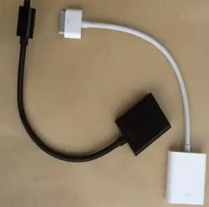 Connecteur pour écran externe pour Asus Transformer et iPad