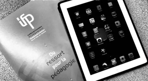 Tablettes tactiles et enseignement : La tâche complexe abordée avec une tablette, pas si complexe...