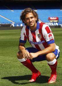Atletico Madrid's new Italian forward Alessio Cerci