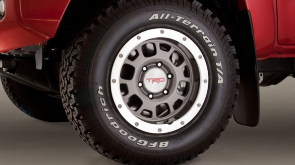 Original Toyota Tacoma Tire Sizes 1995 2013 OEM Tacoma Tire Sizes