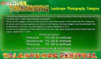 The contest flyer with the guidelines