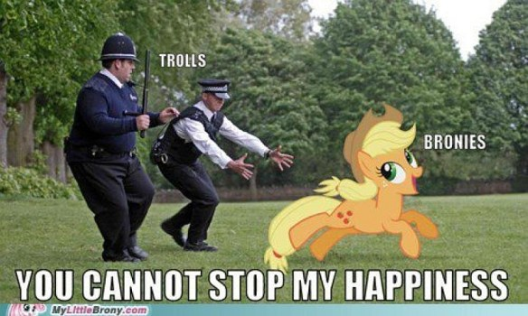 Layin this down for my son and all the other bronies. Respeck.