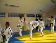 Taekwon-do wedstrijdtraining